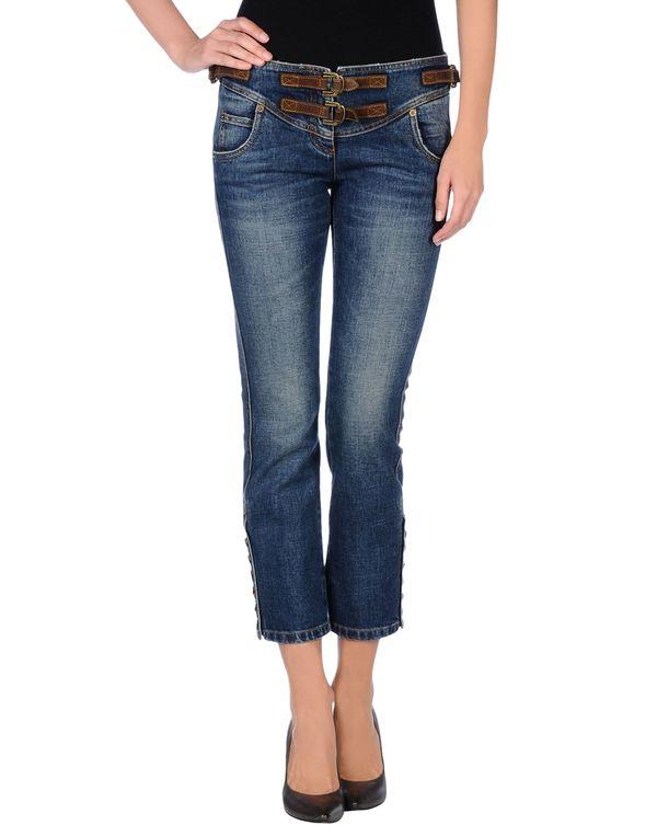 蓝色 SIVIGLIA 牛仔裤