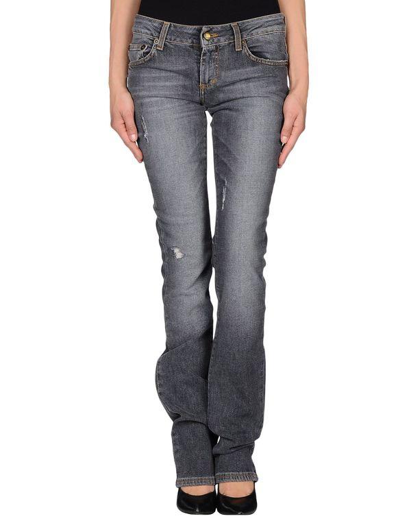铅灰色 JUST CAVALLI 牛仔裤