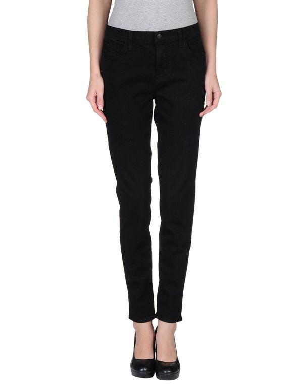 黑色 J BRAND 牛仔裤