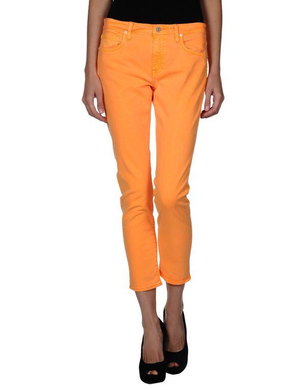 橙色 RALPH LAUREN 牛仔裤
