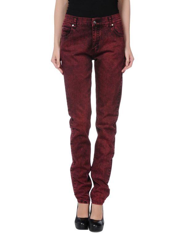 石榴红 CHEAP MONDAY 牛仔裤