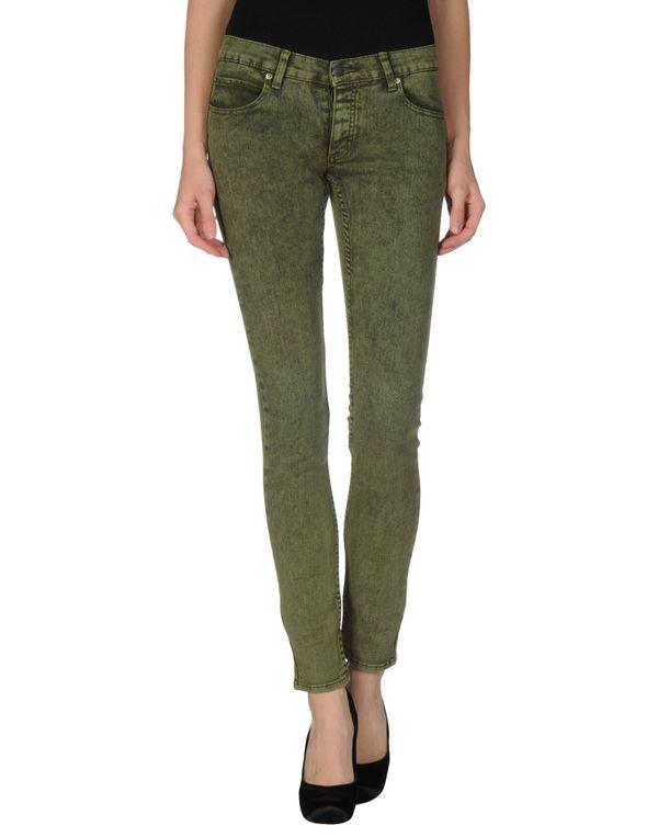 绿色 CHEAP MONDAY 牛仔裤