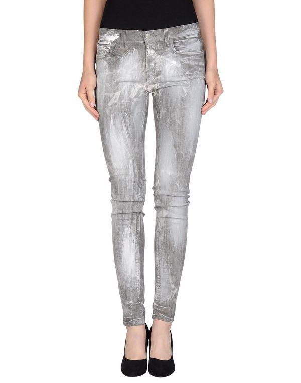灰色 J BRAND 牛仔裤