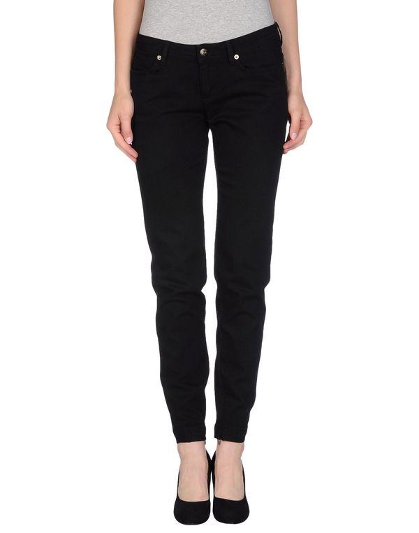 黑色 D&G 牛仔裤