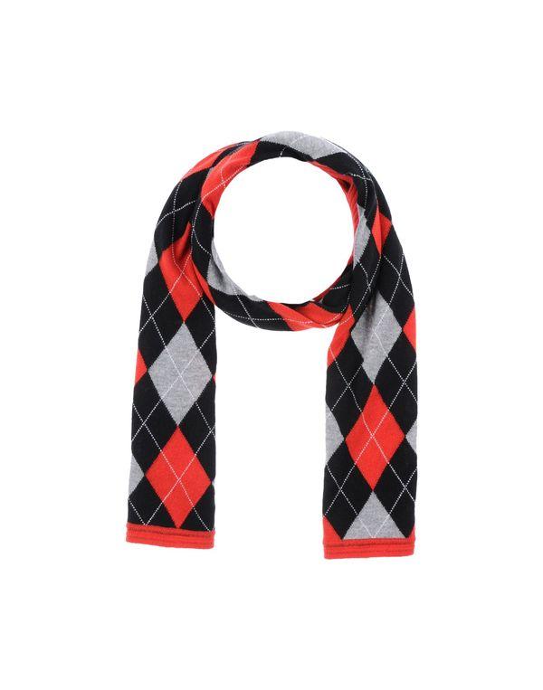 红色 BALENCIAGA 围巾