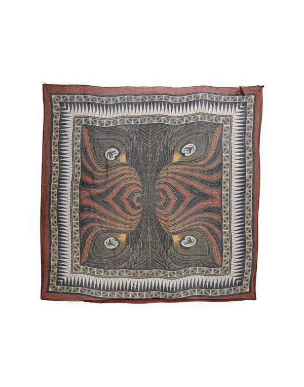 棕色 CLASS ROBERTO CAVALLI 方巾