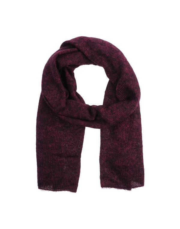 石榴红 JUCCA 围巾