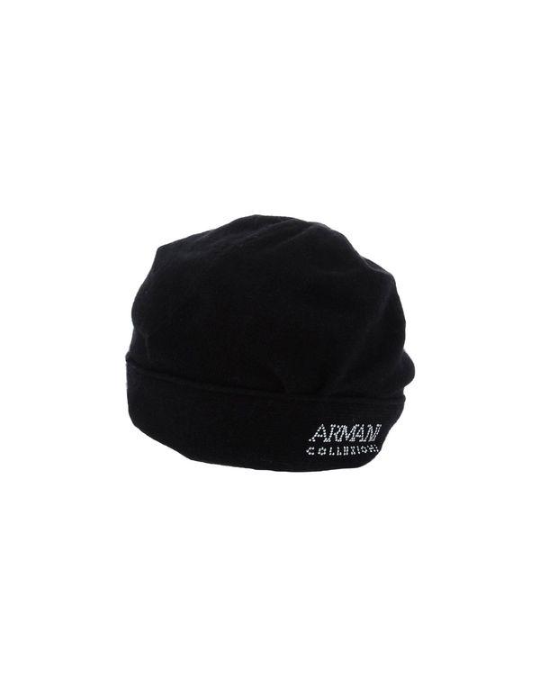 黑色 ARMANI COLLEZIONI 帽子