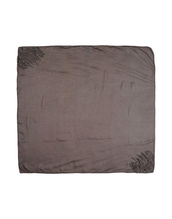 军绿色 TWIN-SET SIMONA BARBIERI 方巾