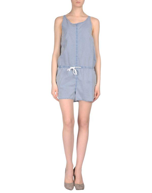 蓝色 ONLY 连身短裤