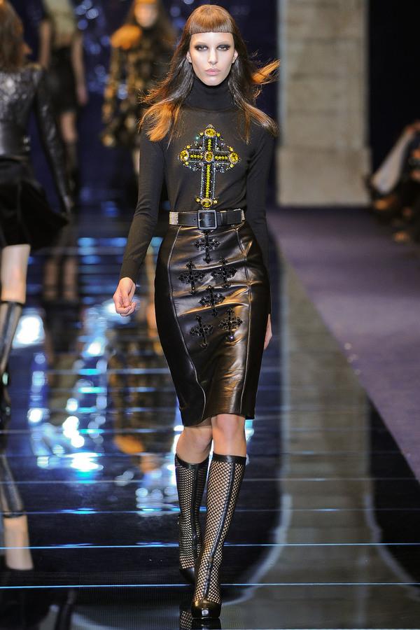 Versace2012秋冬时装秀