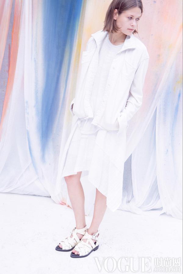 Raquel Allegra2015春夏时装秀
