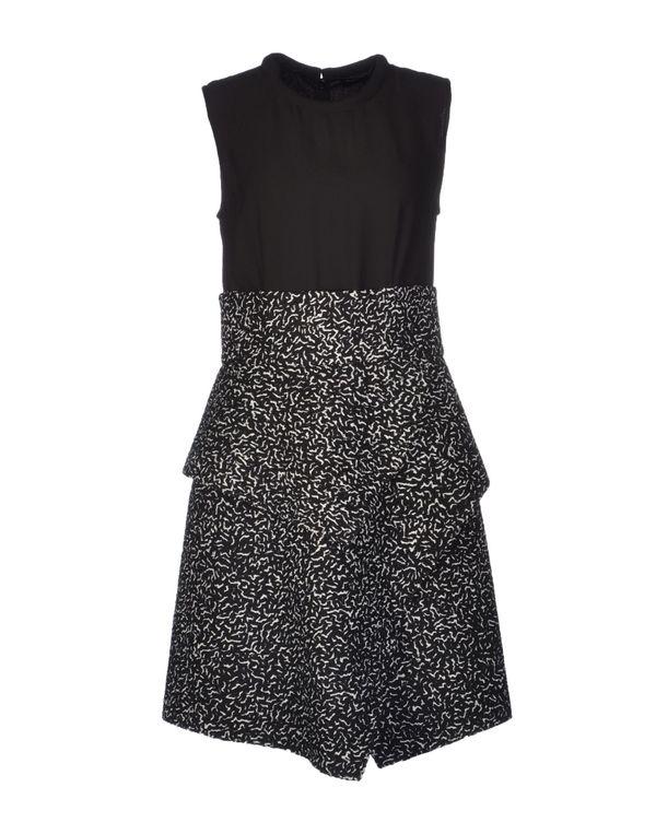 黑色 PROENZA SCHOULER 及膝连衣裙