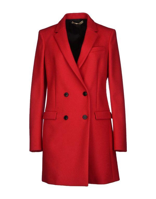 红色 BALENCIAGA 大衣