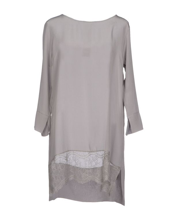 灰色 KAOS 短款连衣裙