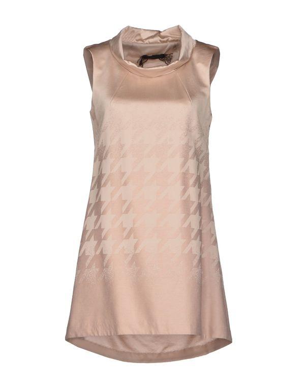 粉红色 PATRIZIA PEPE SERA 短款连衣裙