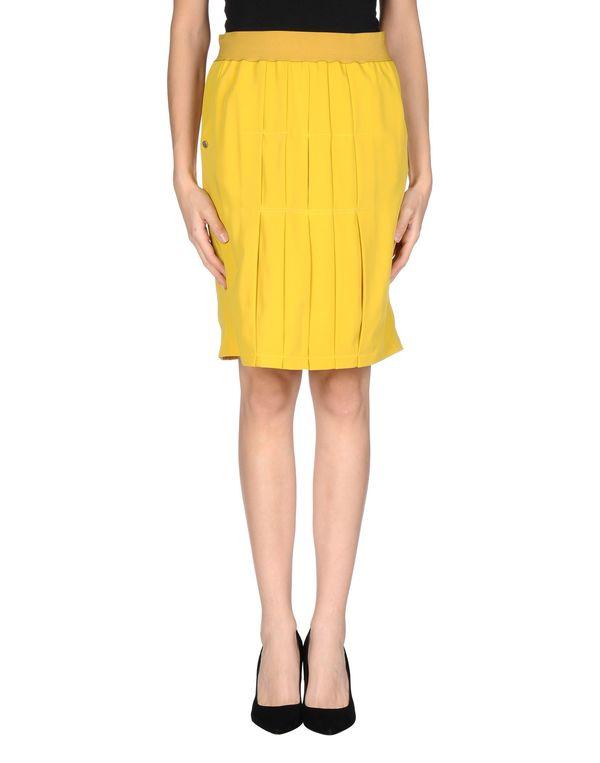 赭石色 MANILA GRACE 及膝半裙
