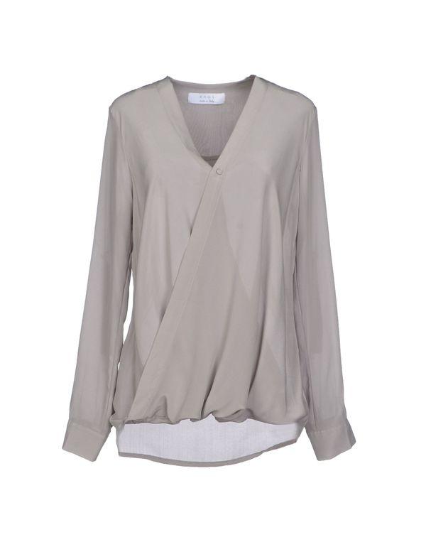 灰色 KAOS 女士衬衫
