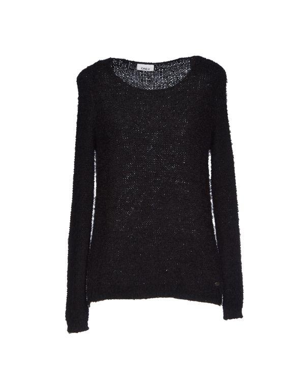 黑色 ONLY 套衫