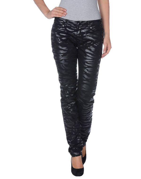 黑色 MCQ ALEXANDER MCQUEEN 牛仔裤