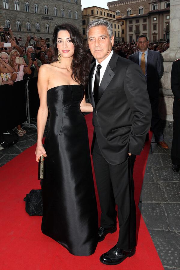 乔治•克鲁尼娇妻Amal 11个最美衣装瞬间
