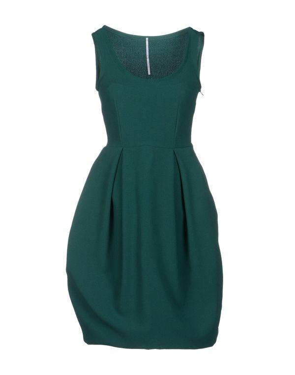 绿色 LAVINIATURRA 及膝连衣裙