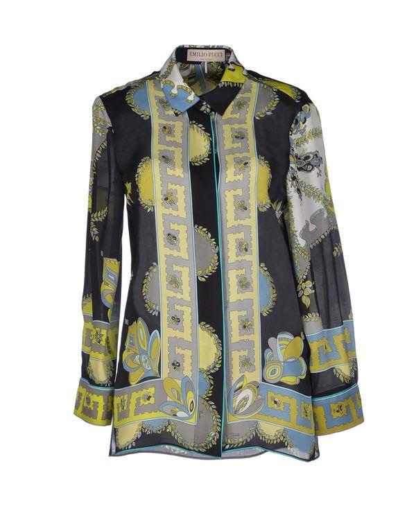 黑色 EMILIO PUCCI Shirt