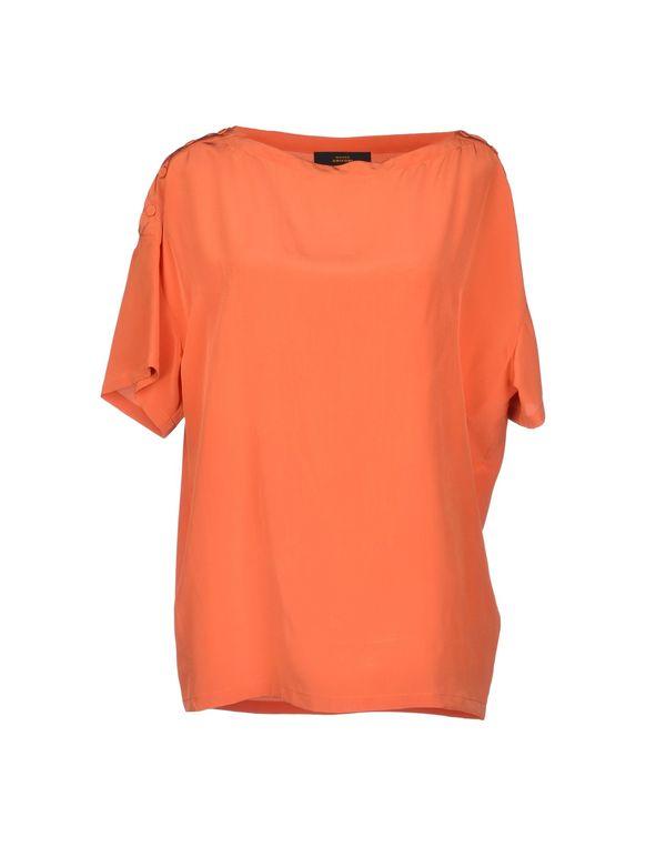 橙色 MAURO GRIFONI 女士衬衫