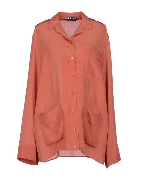 铁锈红 ROCHAS Shirt