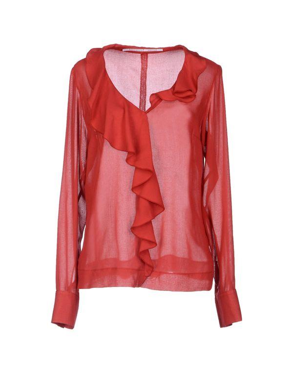 红色 LAVINIATURRA 女士衬衫