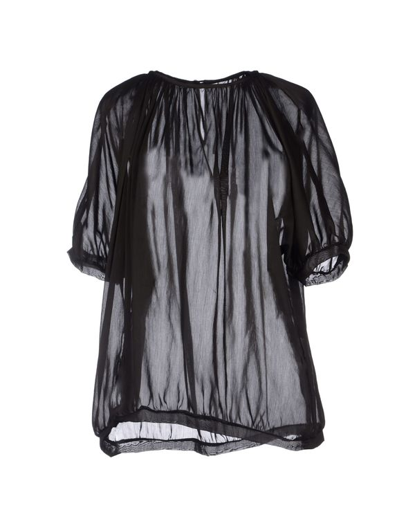 深棕色 LAVINIATURRA 女士衬衫