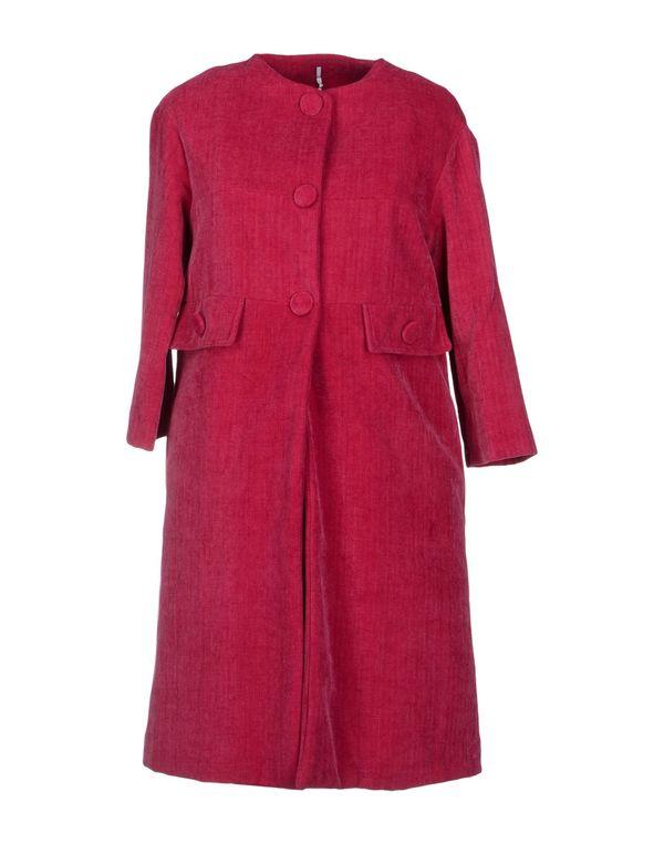 石榴红 LAVINIATURRA 大衣