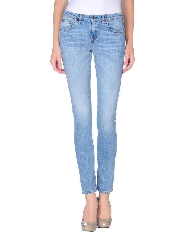 蓝色 M.GRIFONI DENIM 牛仔裤