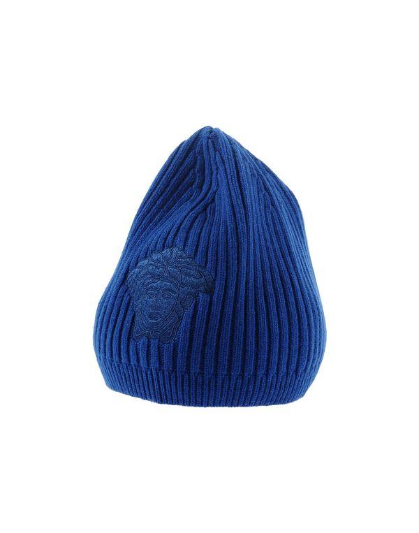 蓝色 VERSACE 帽子