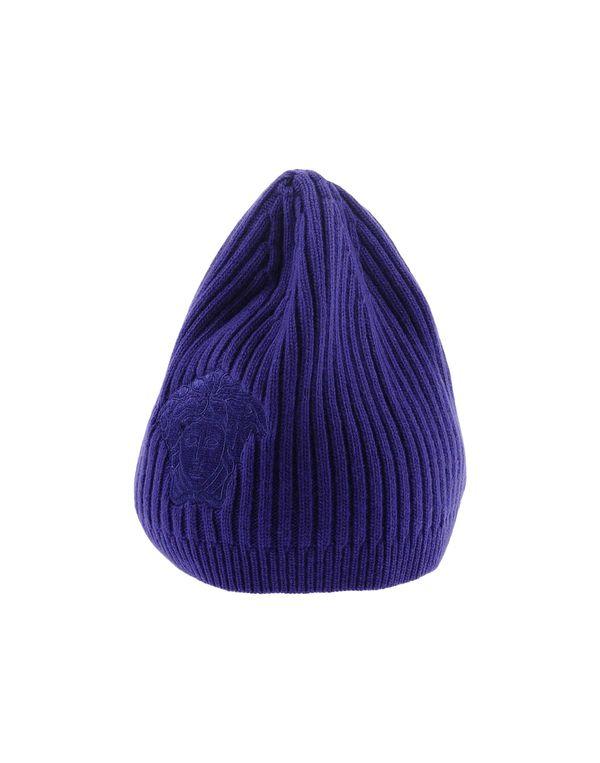 紫色 VERSACE 帽子