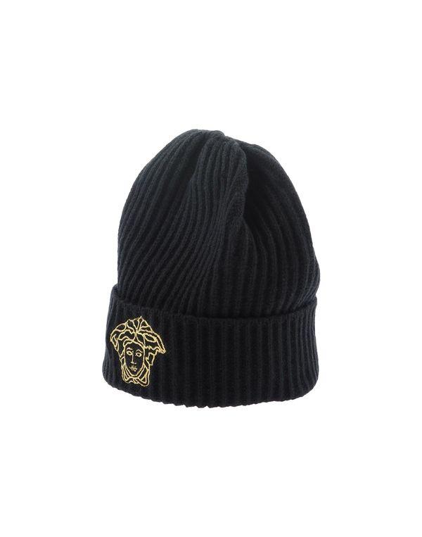 黑色 VERSACE 帽子