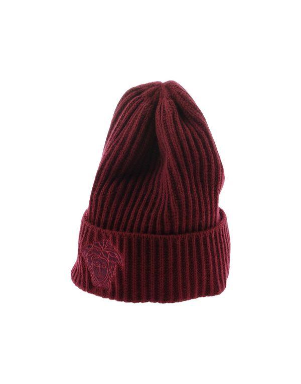 波尔多红 VERSACE 帽子