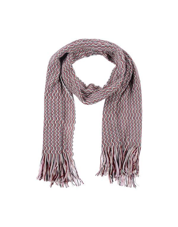 波尔多红 MISSONI 围巾
