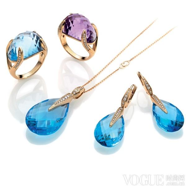 彩宝陶瓷贵金属 样样都不落下的Chimento 2013新款珠宝