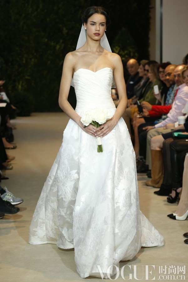 Carolina Herrera2014春夏婚纱秀