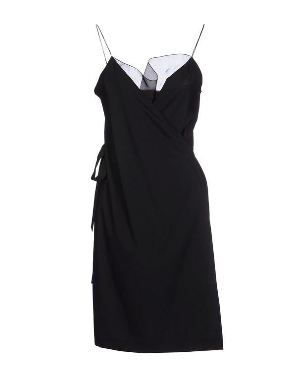 黑色 JEAN PAUL GAULTIER 短款连衣裙