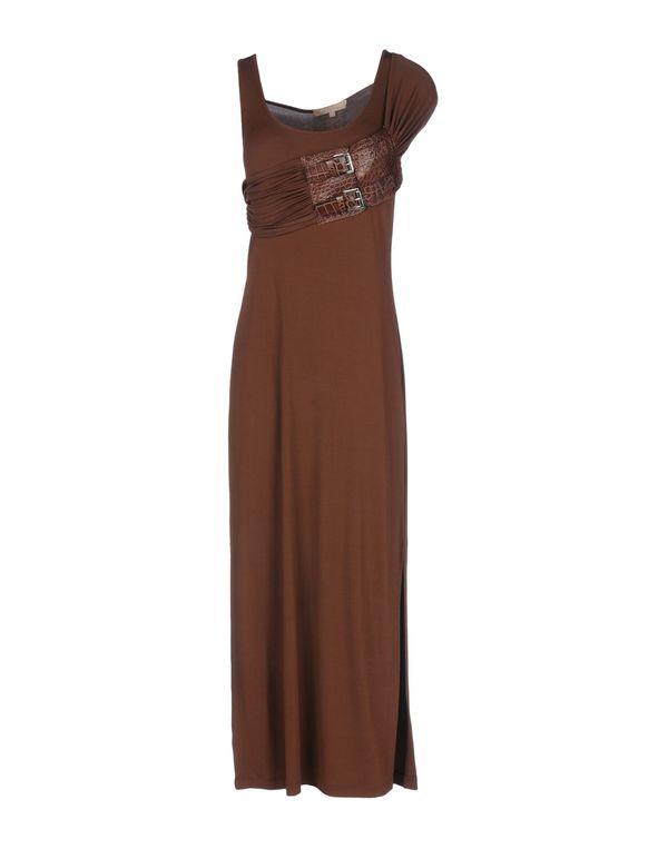 深棕色 MICHAEL KORS 长款连衣裙