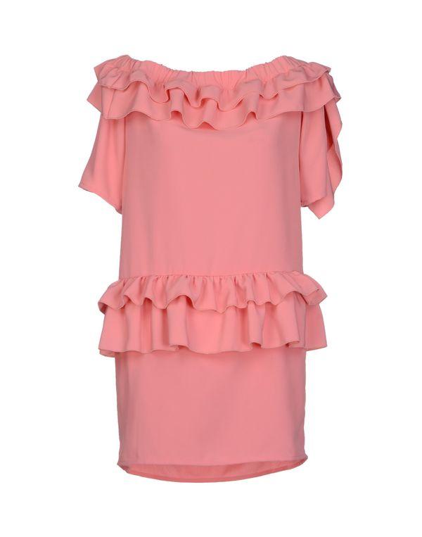 粉红色 PINK BOW 短款连衣裙