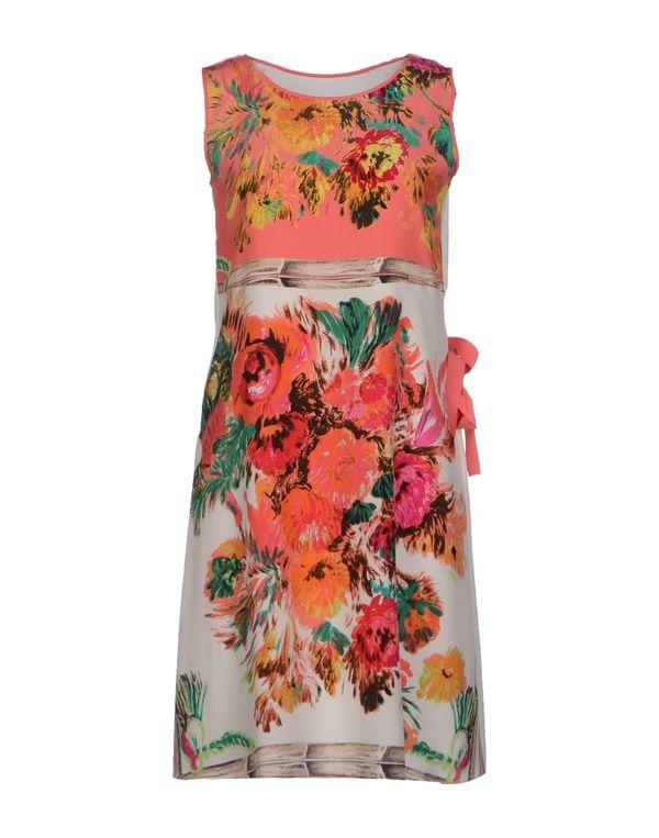 粉红色 ANTONIO MARRAS 短款连衣裙