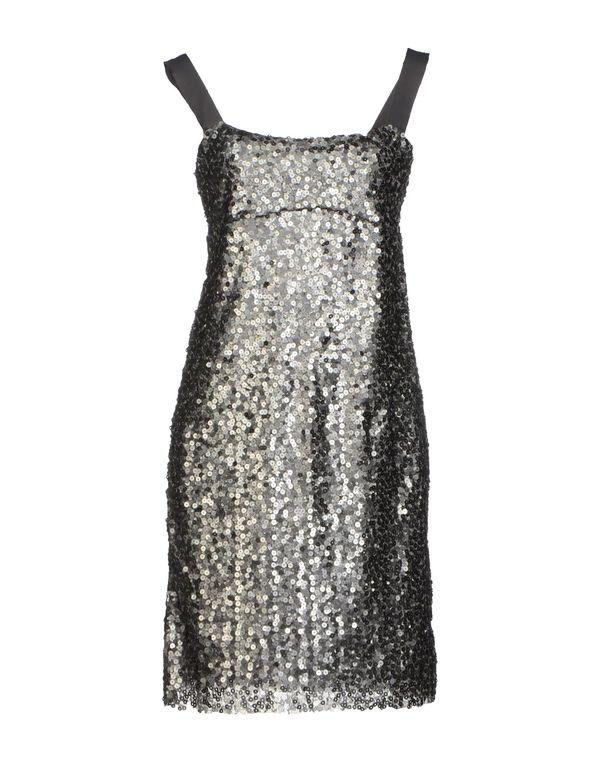 铅灰色 TWIN-SET SIMONA BARBIERI 短款连衣裙