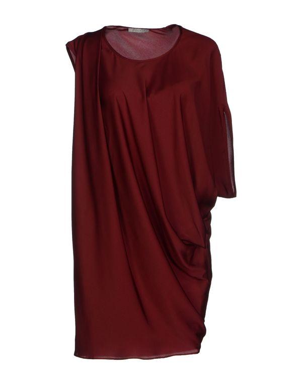 波尔多红 PINKO GREY 短款连衣裙