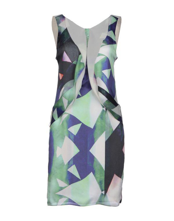 绿色 EMPORIO ARMANI 短款连衣裙