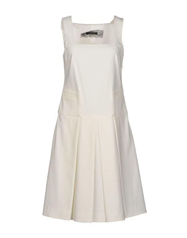 白色 PATRIZIA PEPE SERA 短款连衣裙