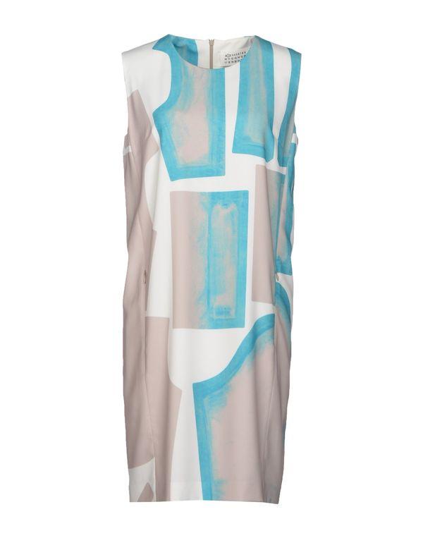 蓝绿色 MAISON MARTIN MARGIELA 1 短款连衣裙