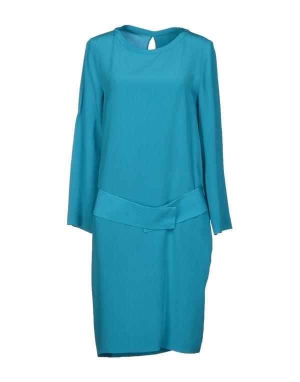 蓝绿色 MAISON MARTIN MARGIELA 4 及膝连衣裙